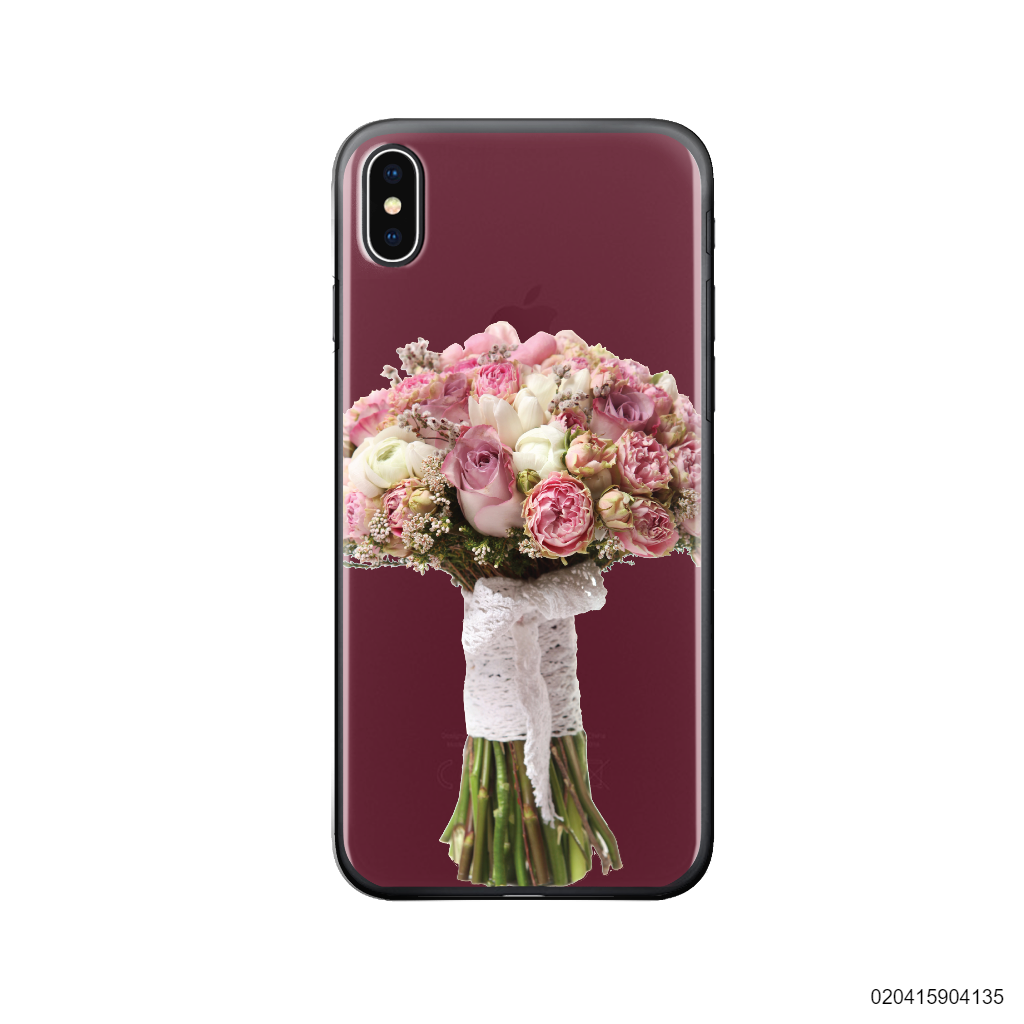 SWEET PEONY AND ROSE BOUQUET - Iphone X/ Xs