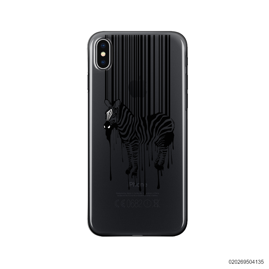 BARCODE ZEBRA - Iphone X/ Xs