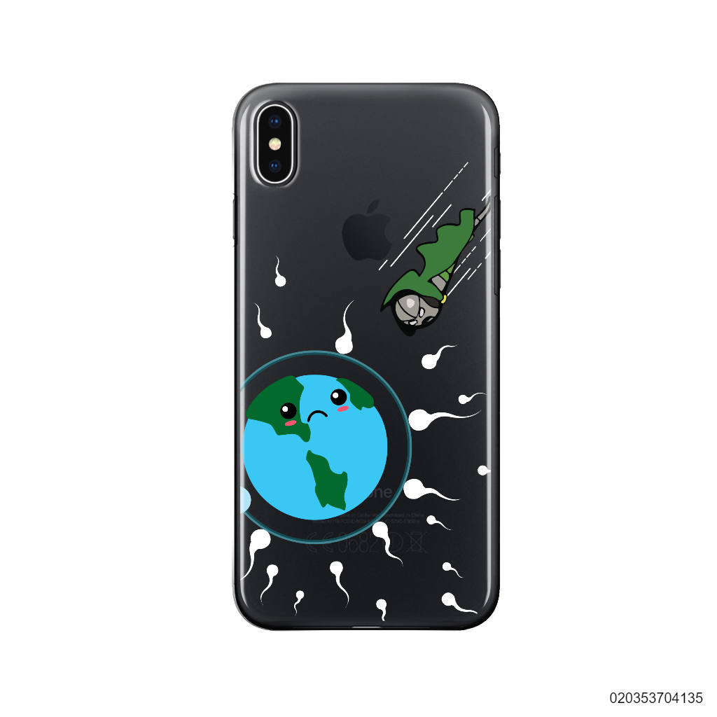 SPERM GREEN ARROW - Iphone X/ Xs