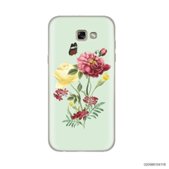 PEONY BOUQUET ON LIGHT GREEN THEME - Samsung Galaxy A5 2017