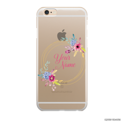 CUSTOMIZE WITH COLORFULL FLOWERS FRAME - IPhone 6/6s Plus