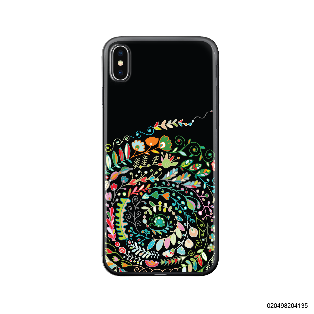 SPIRALS COLORFUL FLOWER PATTERN - Iphone X/ Xs