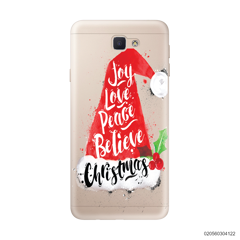 JOY LOVE PEACE BELIEVE CHRISTMAS - Samsung Galaxy J5 Prime