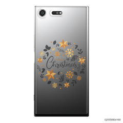 CHRISTMAS WITH GOLDEN STAR - Sony Xperia XZ Premium
