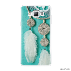 DREAM CATCHER WITH WHITE LEATHER - Samsung Galaxy A7 2015