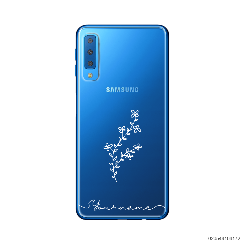CUSTOM JUST PRETTY WILDFLOWERS - Samsung Galaxy A7 2018