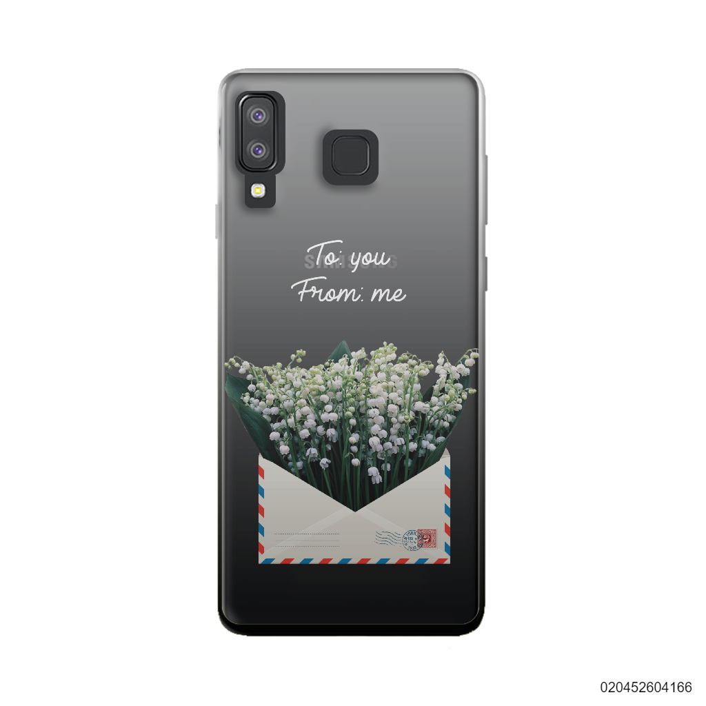 LILY OF THE VALLEY IN LOVE LETTER - Samsung Galaxy A8 Star