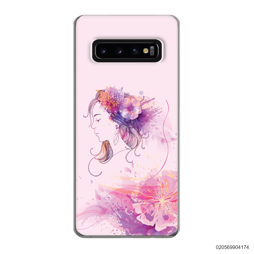 GIRL OVER FLOWER - Samsung Galaxy S10 Plus