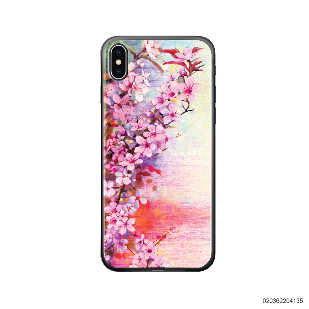 SPRING IN JAPAN OIL PAINTING - Iphone X/ Xs