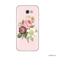 PEONY BOUQUET ON PINK THEME - Samsung Galaxy A5 2017