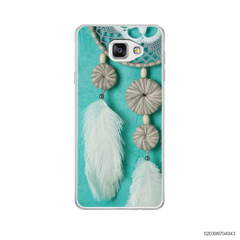 DREAM CATCHER WITH WHITE LEATHER - Samsung Galaxy A5 2016