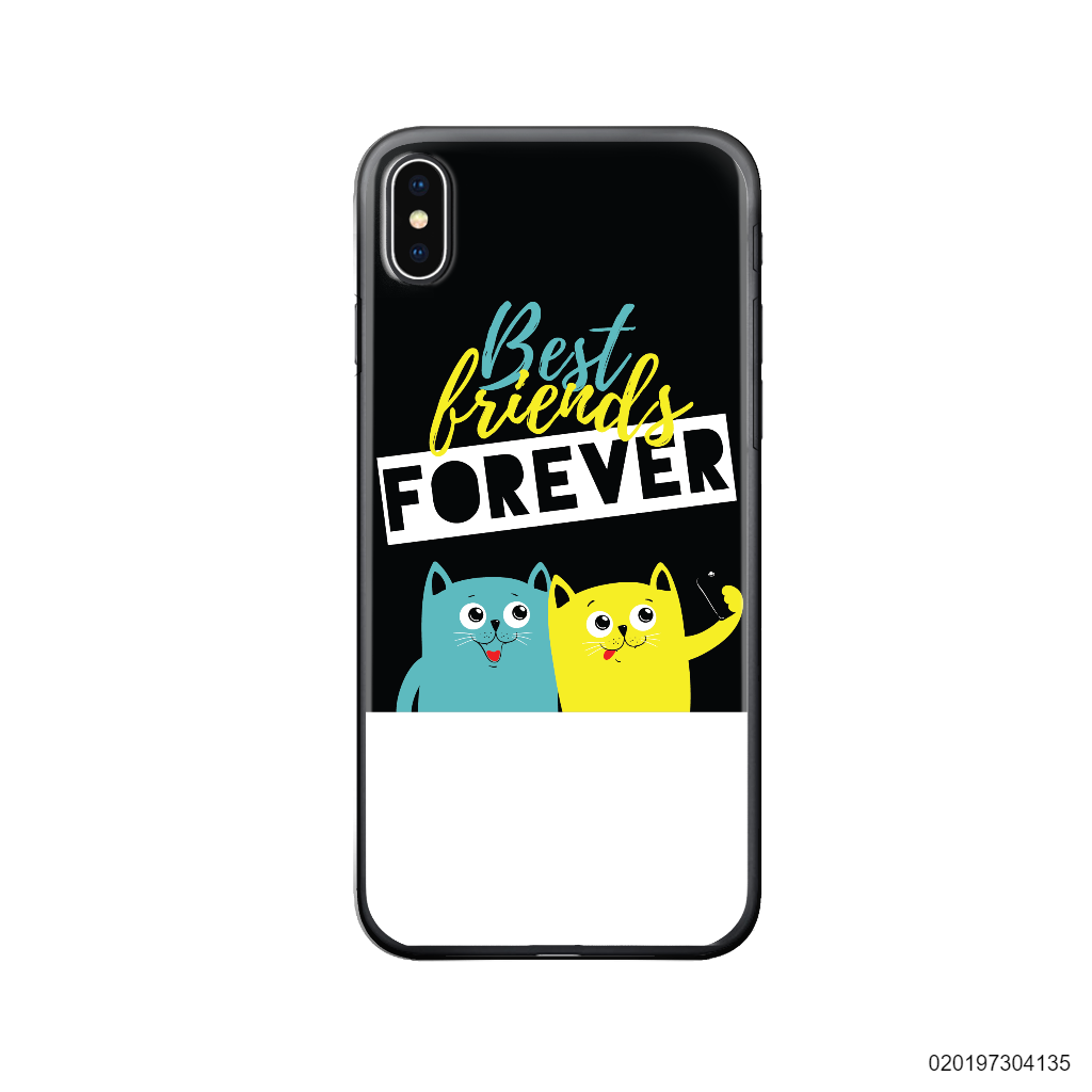 BEST FRIENDS FOREVER BLACK - Iphone X/ Xs
