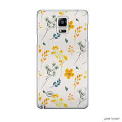 PATTERN TINY YELLOW FLOWERS - Samsung Galaxy Note 4