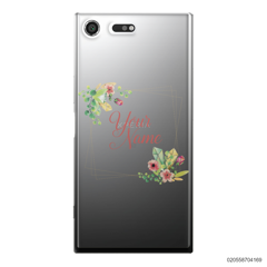 CUSTOMIZE TINY FLOWERS FRAME - Sony Xperia XZ Premium