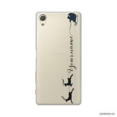 CUSTOM WITH SANTA AND REINDEER - Sony Xperia X