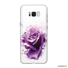 PURPLE MAGIC ROSE - Samsung Galaxy S8 plus