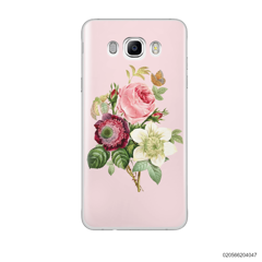 PEONY BOUQUET ON PINK THEME - Samsung Galaxy J7 2016