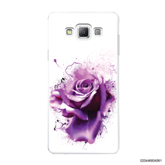 PURPLE MAGIC ROSE - Samsung Galaxy A7 2015