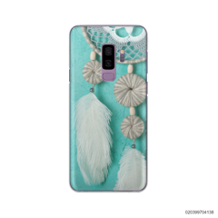 DREAM CATCHER WITH WHITE LEATHER - Samsung Galaxy S9 Plus