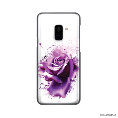 PURPLE MAGIC ROSE - Samsung Galaxy A8 2018