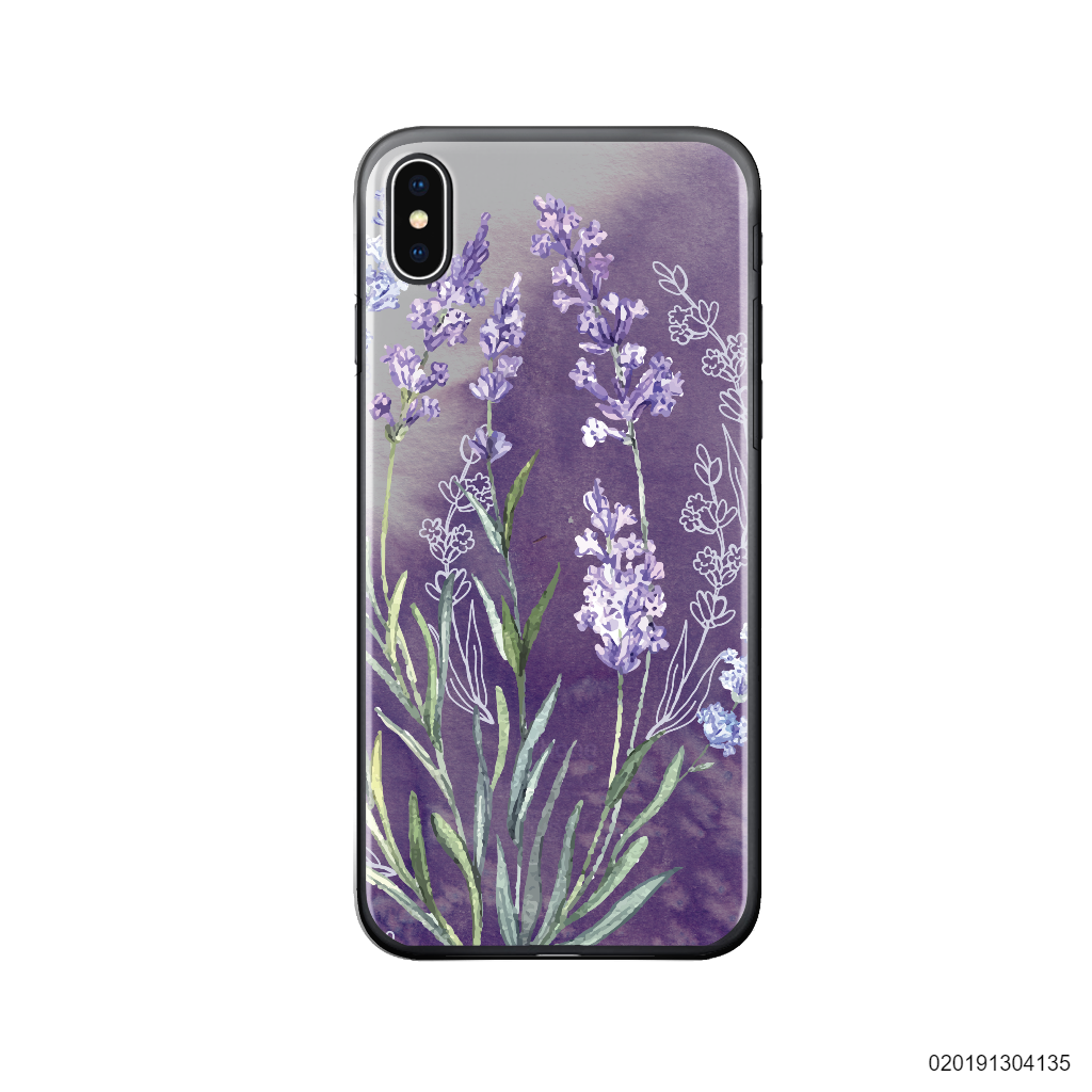 ĐỒNG HOA LAVENDER - Iphone X/ Xs
