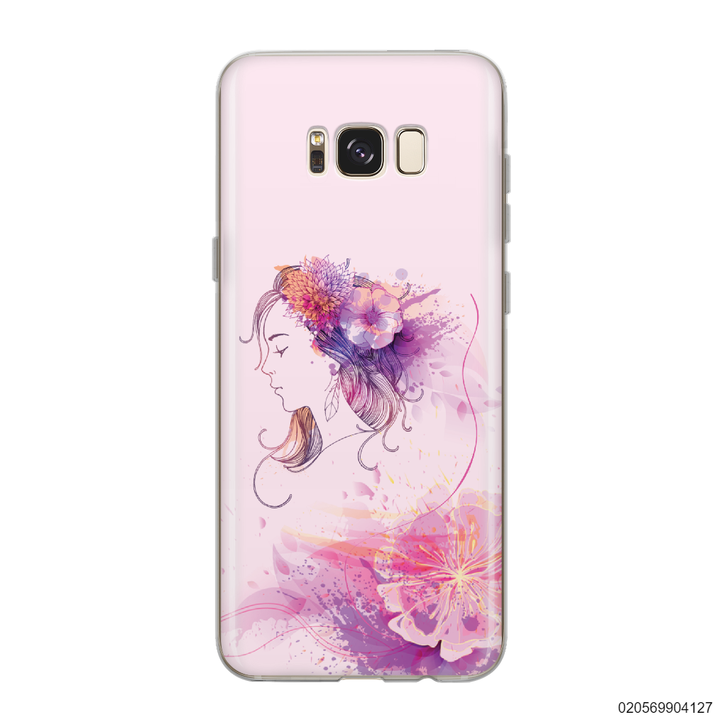 GIRL OVER FLOWER - Samsung Galaxy S8