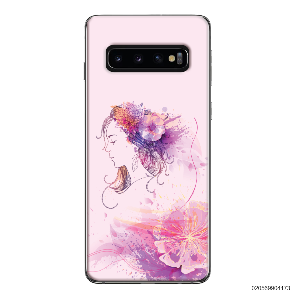 GIRL OVER FLOWER - Samsung Galaxy S10