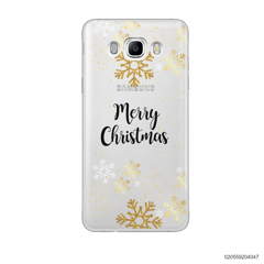 GOLDEN SNOWFLAKES - Samsung Galaxy J7 2016