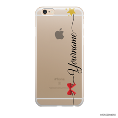 CUSTOM WITH RED RIBBON AND YELLOW STAR - IPhone 6/6s Plus