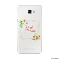 CUSTOMIZE TINY FLOWERS FRAME - Samsung Galaxy A9 Pro