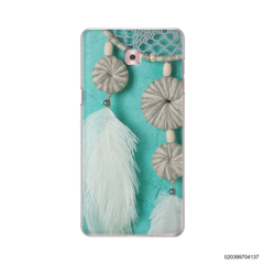 DREAM CATCHER WITH WHITE LEATHER - Samsung Galaxy C9 Pro