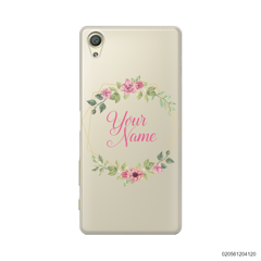 CUSTOMIZE LOVELY FLOWERS FRAME - Sony Xperia X