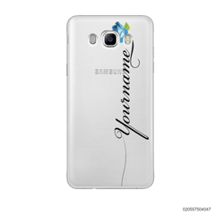 CUSTOM YOUR NAME WITH BLUE ROSE - Samsung Galaxy J7 2016