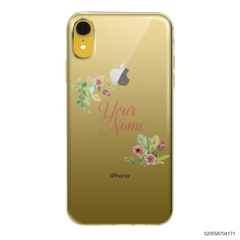 CUSTOMIZE TINY FLOWERS FRAME - Iphone XR
