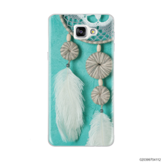 DREAM CATCHER WITH WHITE LEATHER - Samsung Galaxy A9 Pro