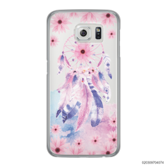 PINKY FEATHER DREAM - Samsung Galaxy S6 Edge