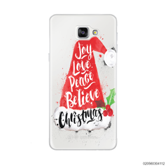 JOY LOVE PEACE BELIEVE CHRISTMAS - Samsung Galaxy A9 Pro