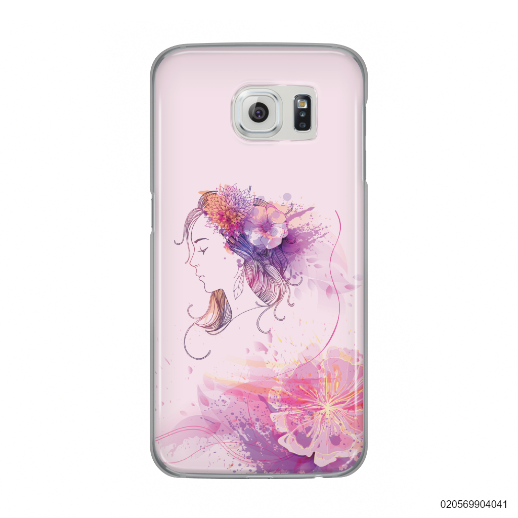 GIRL OVER FLOWER - Samsung Galaxy S6
