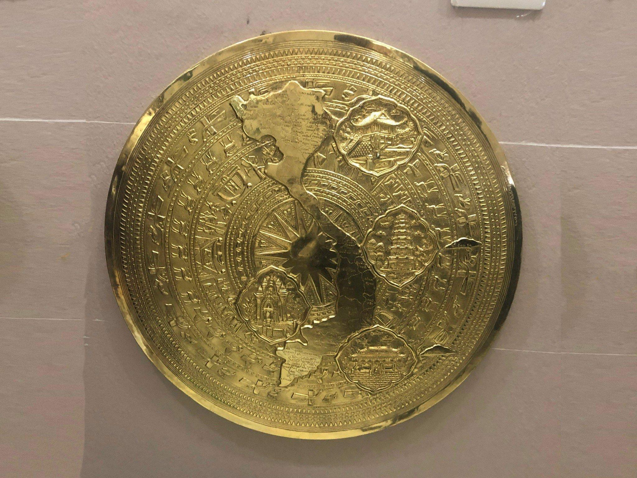 Mặt trống đồng thúc nổi 60cm