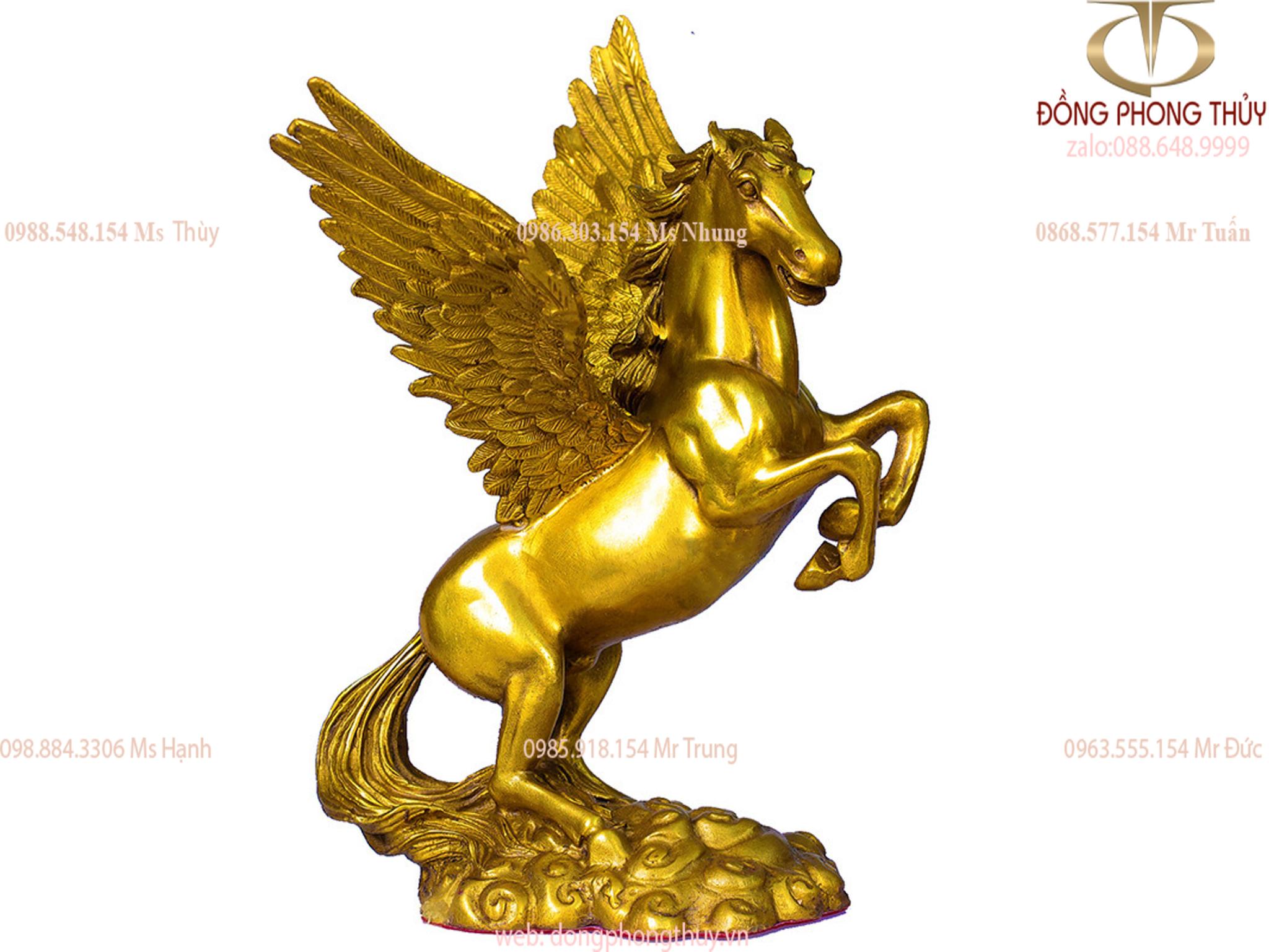Tượng ngựa phong thủy - Ngựa Cánh- Thiên lý mã