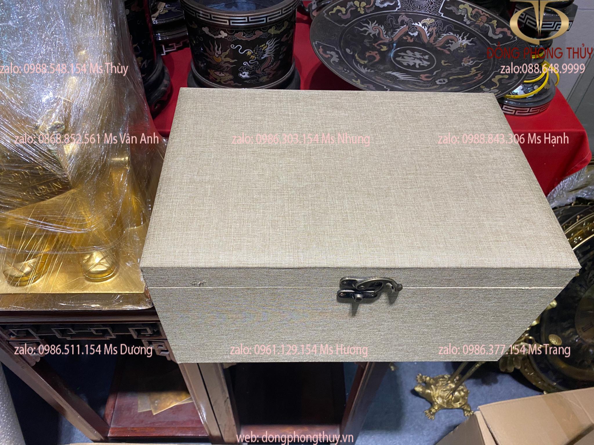 Tượng trâu vip bằng đồng cao 19,5 dài 30 nặng 3kg