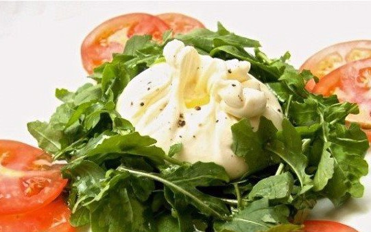 Salad Burrata Rocket & Balsamic Vinaigrette