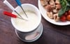 Cheese Fondue and Pot Set (without vegetables)