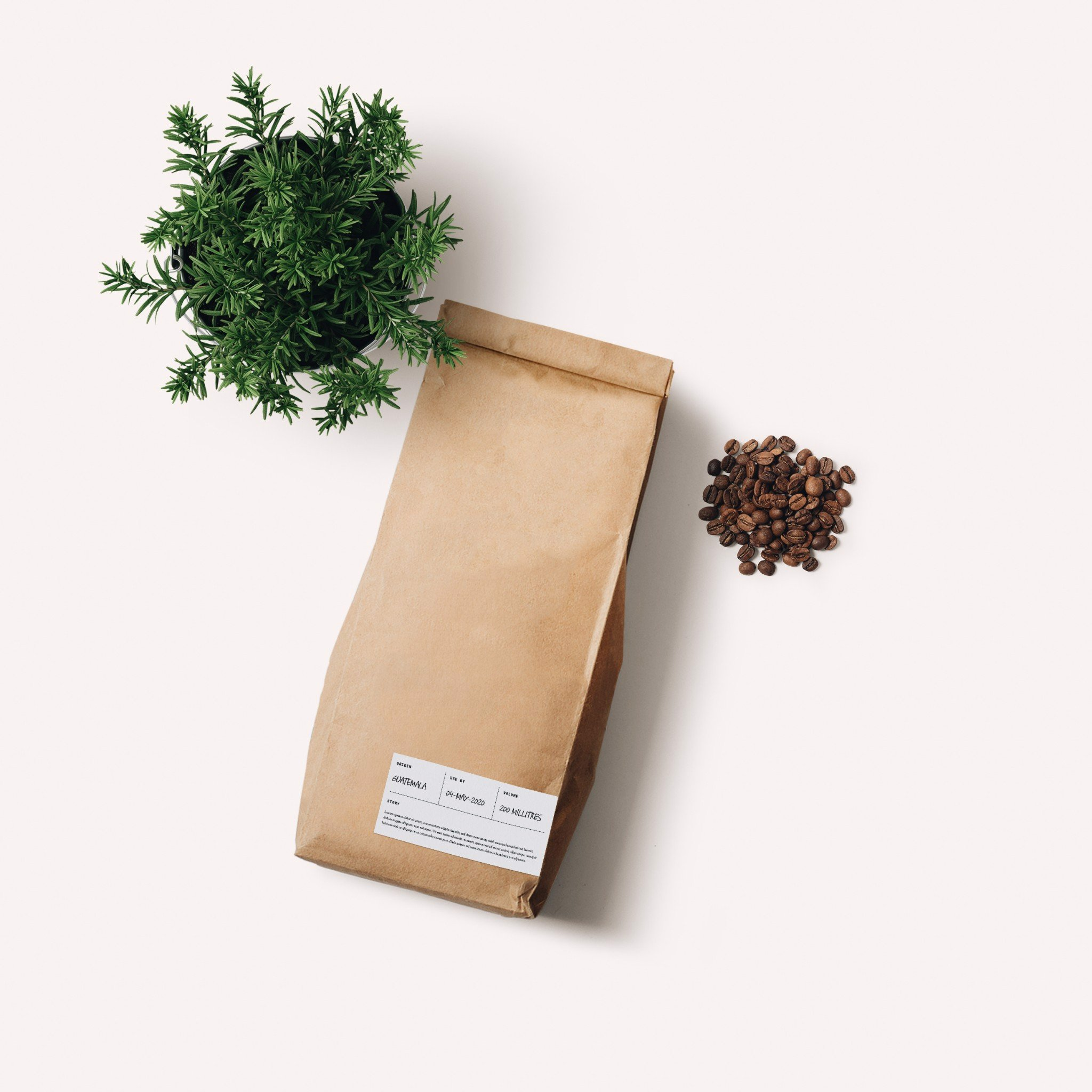 4P's House-roasted Coffee Bean (250g)