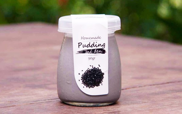 Pudding Black Sesame (jar,90g)