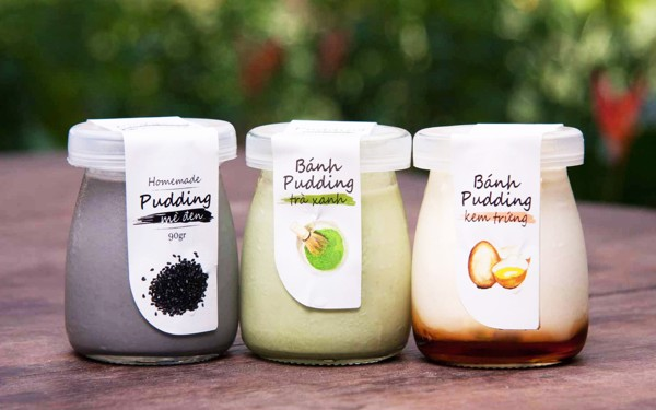 Pudding Set Of 3 Flavors