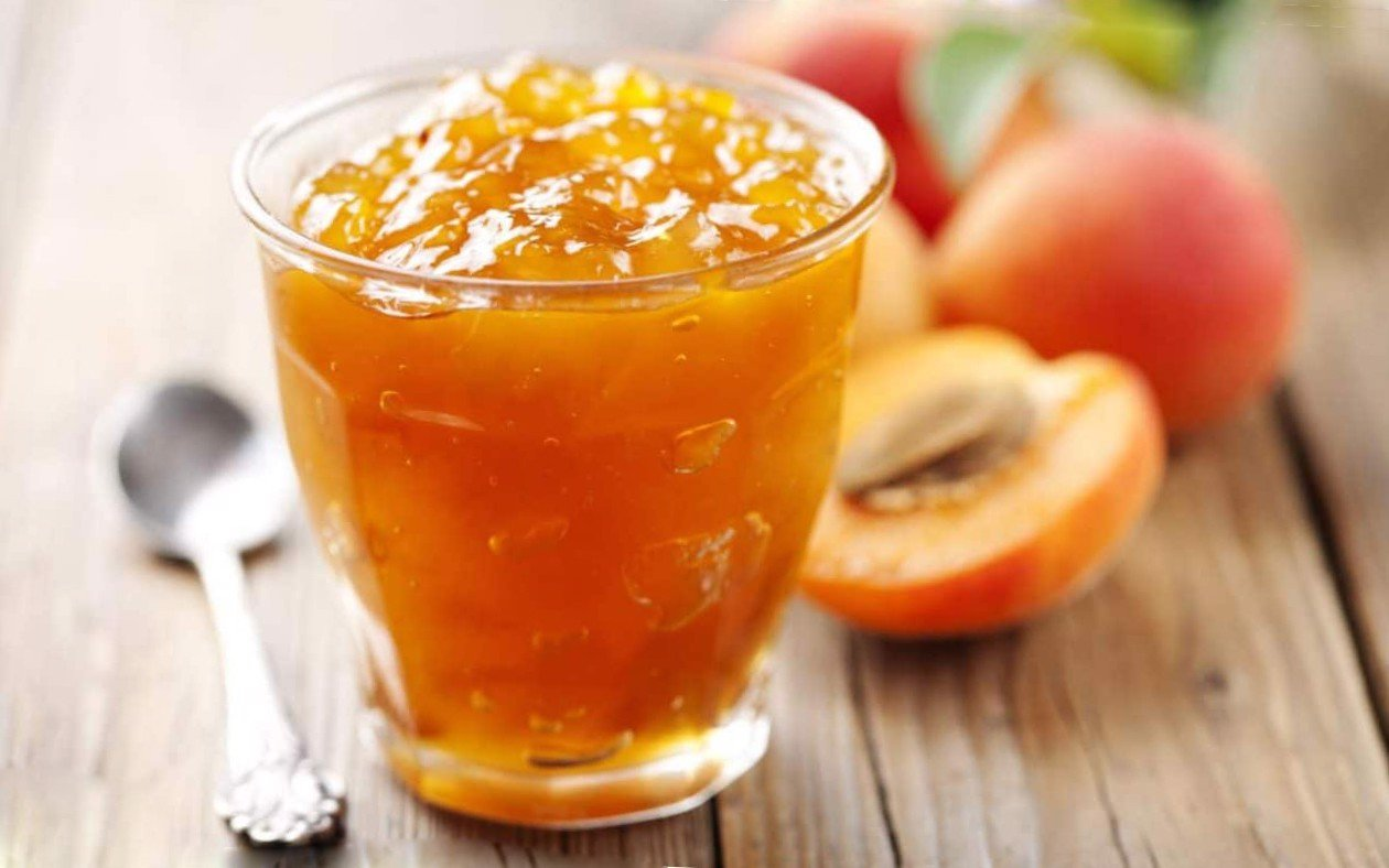 Sauce Peach For Yogurt (jar, 180g)