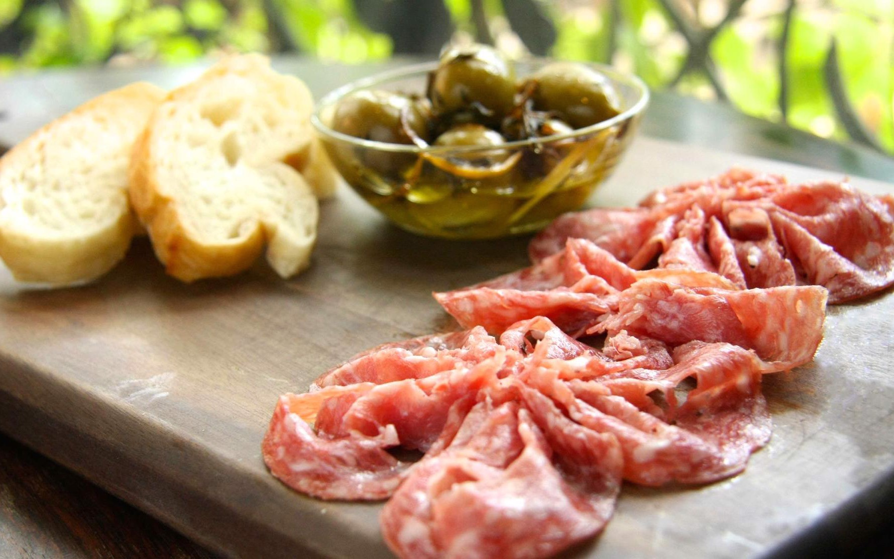 Milano Salami Slices (pack, 50g)
