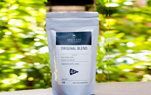 Original Blend About Life Coffee Brewers x 4P's - (100g, Grinded)