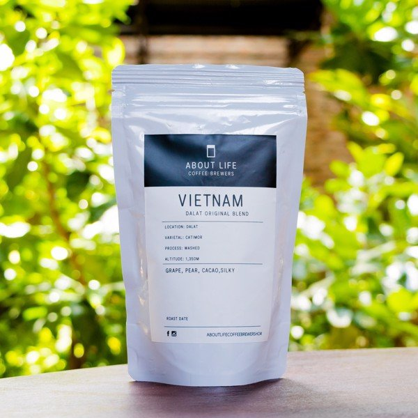 Vietnam single origin About Life Coffee Brewers - (100g, Grinded)